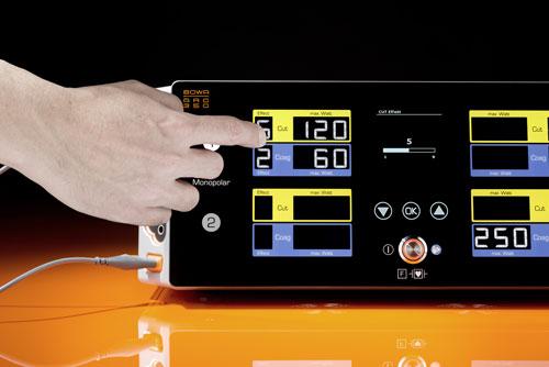 ARC 350 тачскрин – Управление кончиками пальцев